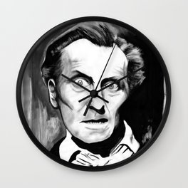 Keep Away From the Skull of Marquis De Sade Wall Clock