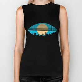 Eye On The City Biker Tank