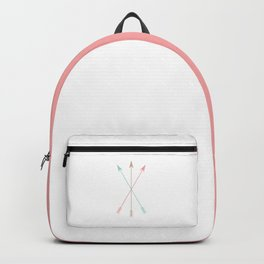 Minimal Colored Arrows Backpack