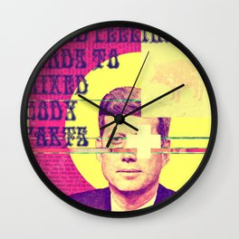 Mixed Feelings Leads to Mixed Body Parts Wall Clock
