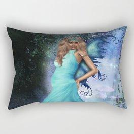 Crystal Blue Rectangular Pillow