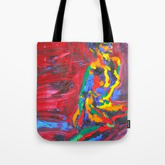 Colorful Nude Tote Bag