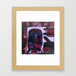 Owl Drive Framed Art Print