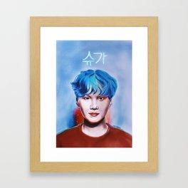 i_live_for_his_hair_color.jpg Framed Art Print