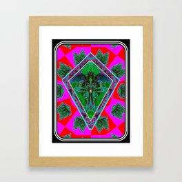 Forest Pixies Framed Art Print