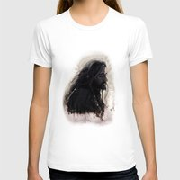 thorin T-shirts featuring Mixed Media - Thorin by LindaMarieAnson
