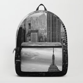 Manhattan, New York, USA. Backpack