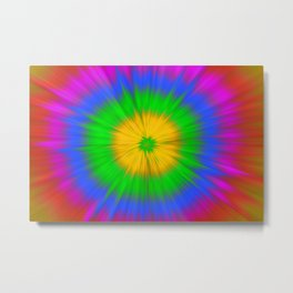 Colorful explosion Metal Print