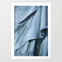 Lady Liberty's Robe #1 Art Print