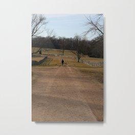 Union Soldier at Appomattox, Virginia Metal Print