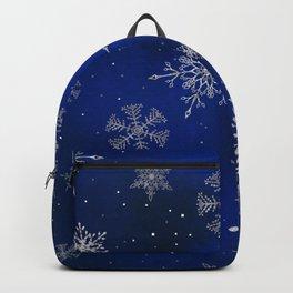 Magic winter night Backpack
