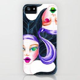 Gemini Twins iPhone Case