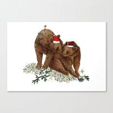 christmas bears Canvas Print