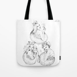 Christmas Fairies Tote Bag