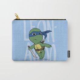 TMNT: Leonardo (Cute & Dangerous) Carry-All Pouch