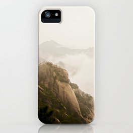 Golden Mountain iPhone Case