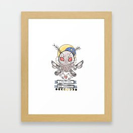 Cryptids for Kindness Framed Art Print