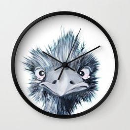 My name is EMU-ly Wall Clock