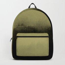 golden lime & graphite Backpack