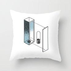 The Exploded Alphabet / I Throw Pillow