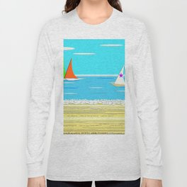 Sailing - Beach Life Long Sleeve T-shirt