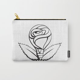 Through Rosy Glass Carry-All Pouch