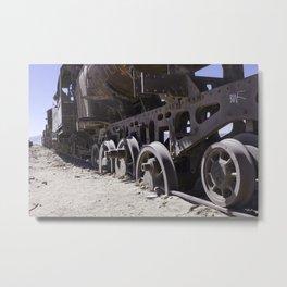 Salt Station Metal Print