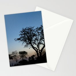 African Trees Stationery Cards