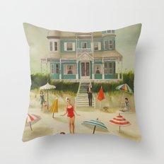 Quicksand Throw Pillow