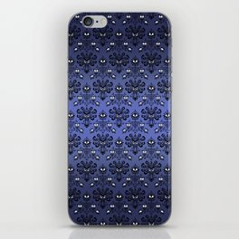 Owl Ghost and Cyclops Monster Pattern Art iPhone Skin