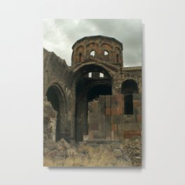 Beckoning Ruins (Armenian Trip) Metal Print
