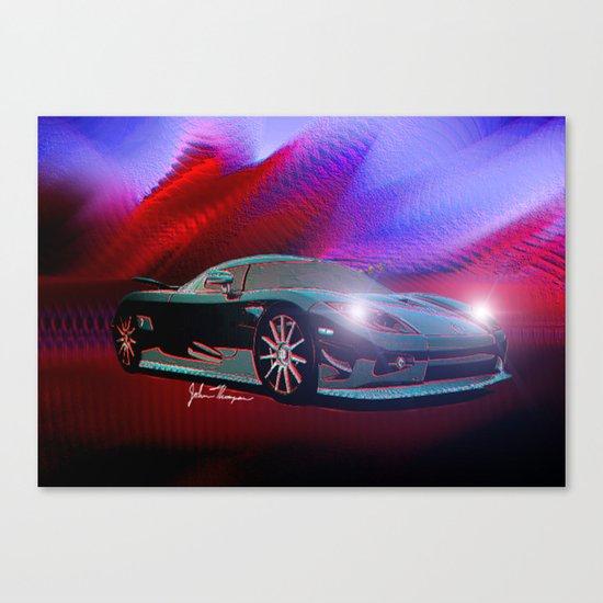 Koenigsegg Canvas Print