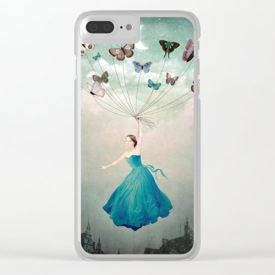 Leaving Wonderland Clear iPhone Case