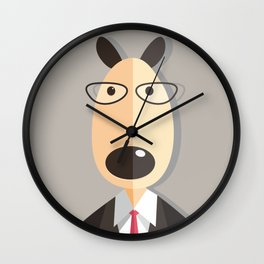 Mr.Dog Wall Clock