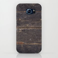 Vintage Black Wood Slim Case Galaxy S7