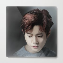 Exo Suho Fan Art Metal Print