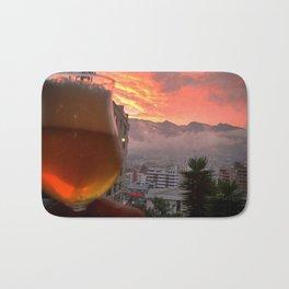 Sunset Beer Bath Mat