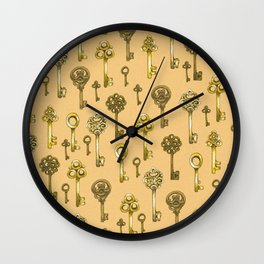 Key Collection Wall Clock