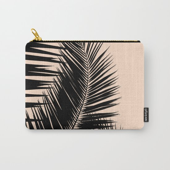 Palms on Pale Pink Carry-All Pouch