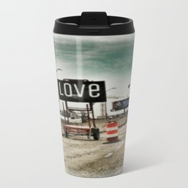 Road Construction Love  Travel Mug
