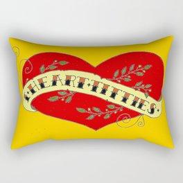 I Heart Titties, Colourful Rectangular Pillow