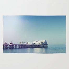 Summer pier Rug