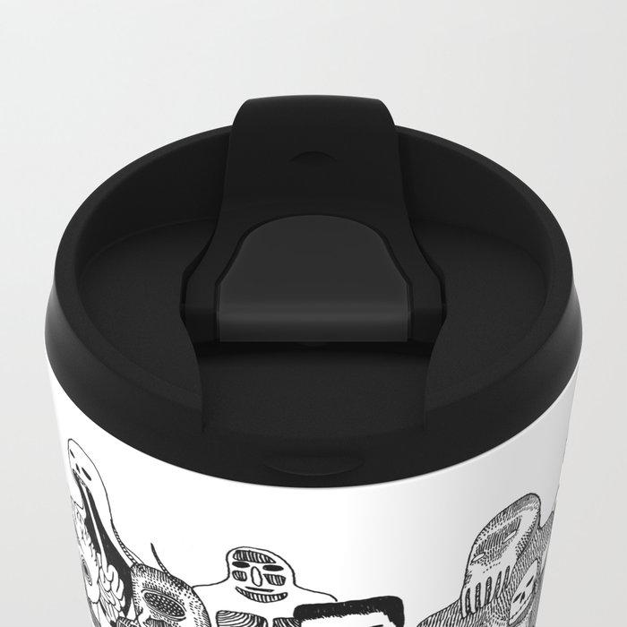 Monster Mash Metal Travel Mug