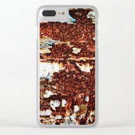 In A Funk Clear iPhone Case