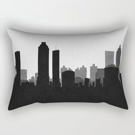 City Skylines: Atlanta Rectangular Pillow