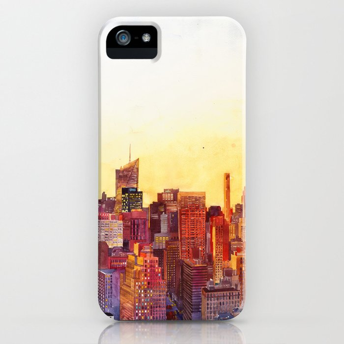 Sunshine in NYC iPhone Case