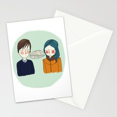 I Can't See Anything I Don't Like About You Stationery Cards