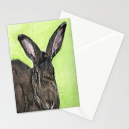 Tango the rescue rabbit Stationery Cards