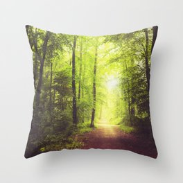 Collecting Light Throw Pillow