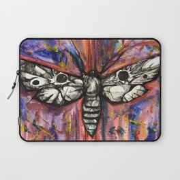 Splatter Moth Laptop Sleeve